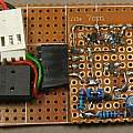 PUT oscillator built in tin box, David Pilling