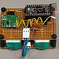 Wireless temperature sensor complete, David Pilling