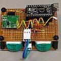 Wireless temperature sensor complete, David Pilling