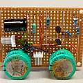Wireless temperature sensor super cap. power supply, David Pilling